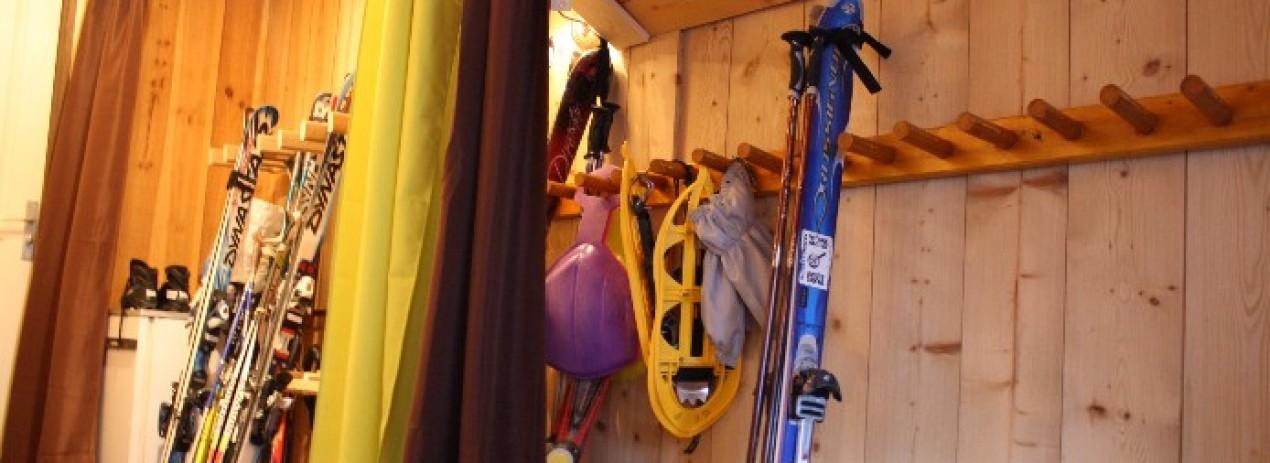 local à skis