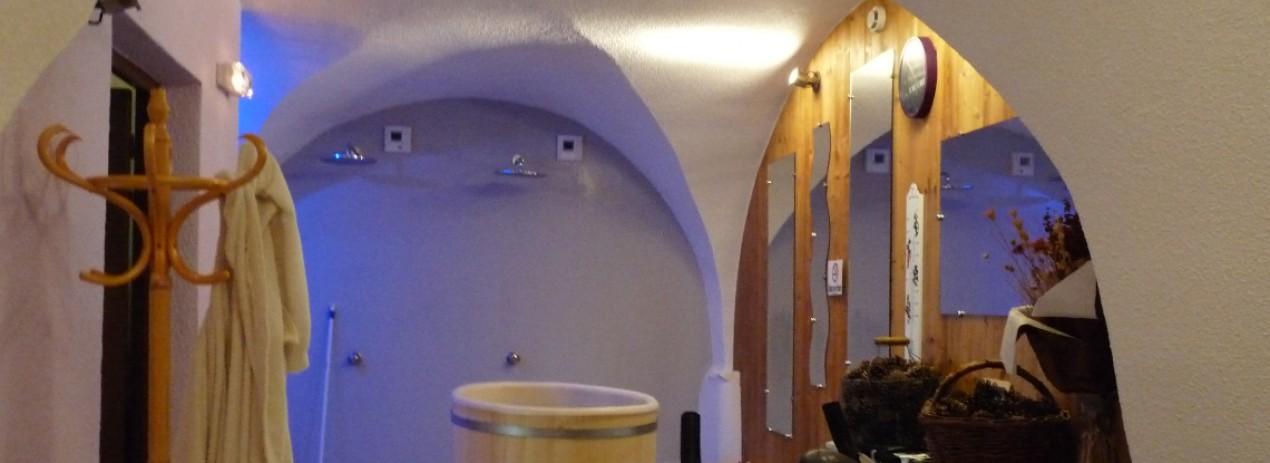 a modern space under vaults