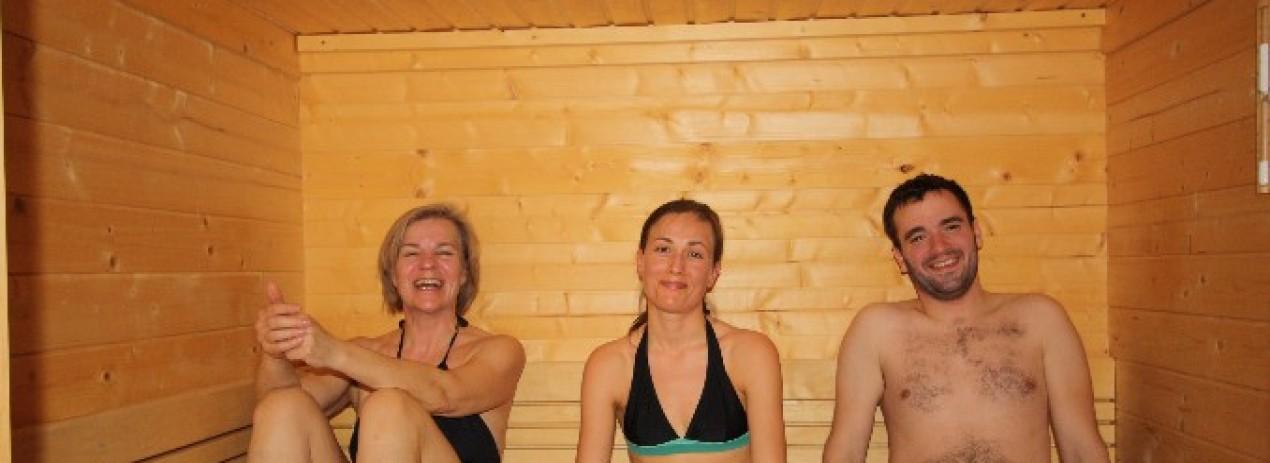 Centro benessere g te auberge la blanche for Sauna la detente