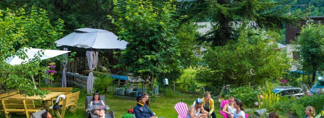 Le jardin. Photo de Bertrand Bodin pour la marque esprit Parc